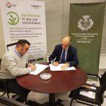 Cajasur y el Colegio Oficial de Peritos e Ingenieros Técnicos Agrícolas y Graduados en Ingeniería Agrícola de Córdoba firman un convenio de colaboración