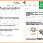 CURSO AUDITOR INTERNO GLOBALG.A.P.V. 5.2