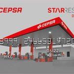 Descuento en el carburante de estaciones de servicio Cepsa